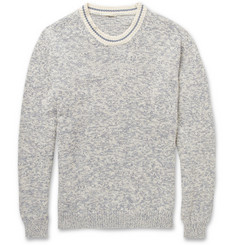 Massimo Alba Knitted-Cotton Crew Neck Sweater