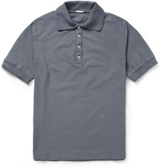 Massimo Alba Tennis Cotton-Piqué Polo Shirt