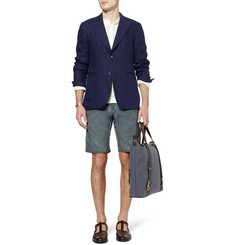 Massimo Alba Vela Slim-Fit Washed Cotton Shorts