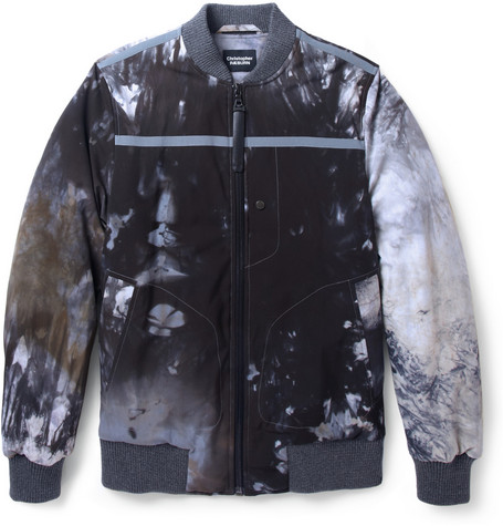 Christopher Raeburn Printed Padded Bomber Jacket