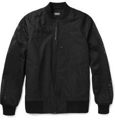 Christopher Raeburn Cotton-Blend and Mesh Bomber Jacket