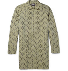 Christopher Raeburn Printed Cotton Raincoat