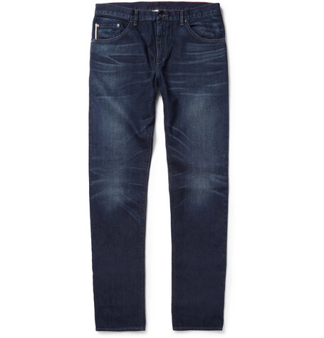 Raleigh Denim Martin Slim-Fit Washed Selvedge Denim Jeans