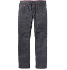 Raleigh Denim Jones Slim-Fit Dry Selvedge Denim Jeans