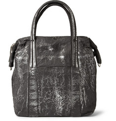 Maison Martin Margiela Burnished Coated-Aluminium Tote Bag