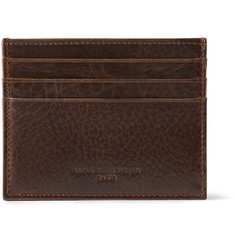 Maison Martin Margiela Textured-Leather Card Holder