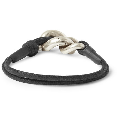 Maison Martin Margiela Rope and Metal Bracelet