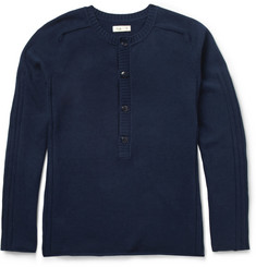 Folk Cotton-Blend Sweater