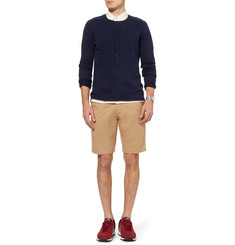 Folk Regular-Fit Cotton-Twill Suit Shorts