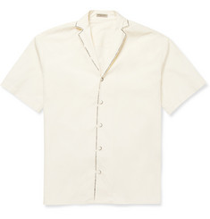 Bottega Veneta Painted Short-Sleeved Cotton Shirt