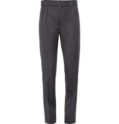 Bottega Veneta Belted Wool Trousers