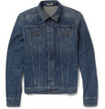 Bottega Veneta Slim-Fit Washed-Denim Jacket