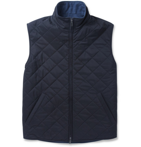 Loro Piana Marlin Reversible Quilted Gilet