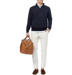 Loro Piana Roadster Zip Collar Cashmere Sweater