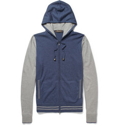 Loro Piana Cashmere and Silk-Blend Hoodie