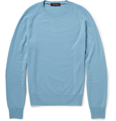 Loro Piana Cashmere Crew Neck Sweater