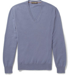 Loro Piana V-Neck Cashmere Sweater