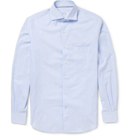 Loro Piana Alain Striped Cotton Shirt