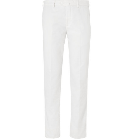 Loro Piana Slim-Fit Cotton-Blend Chinos