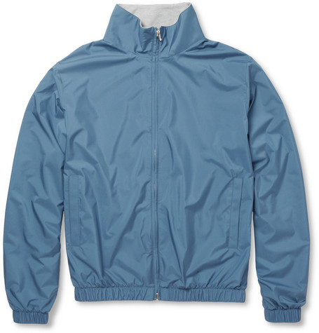 Loro Piana Reversible Windproof and Cashmere Bomber Jacket