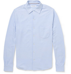 Loro Piana Cotton-Blend Piqué Shirt