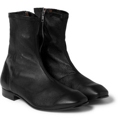 Acne Studios Umberto Full-Grain Leather Boots