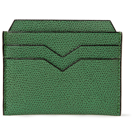 Valextra Full-Grain Leather Card Holder