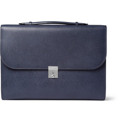 Valextra Leather Briefcase