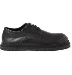 Ann Demeulemeester Rubber-Soled Leather Derby Shoes