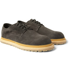 Ann Demeulemeester Suede Derby Shoes