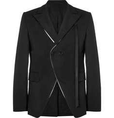 Ann Demeulemeester Slim-Fit Cotton-Blend Blazer