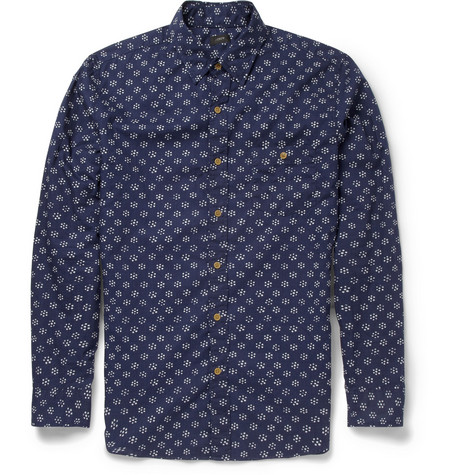 J.Crew Printed Cotton Shirt