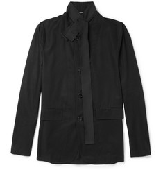 Ann Demeulemeester Unstructured Lightweight Cotton Blazer