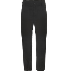 Ann Demeulemeester Cropped Cotton Trousers