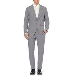 Ann Demeulemeester Unstructured Regular-Fit Woven-Cotton Suit
