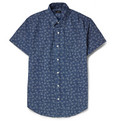 J.Crew - Flower-Print Cotton-Chambray Short-Sleeve Shirt