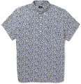 J.Crew - Printed Short-Sleeved Cotton Shirt