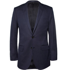 J.Crew Ludlow Slim-Fit Stitched-Dot Cotton-Blend Suit Jacket