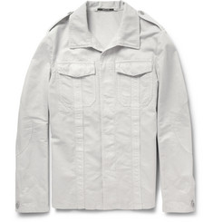 Maison Martin Margiela Lightweight Cotton and Linen-Blend Twill Field Jacket