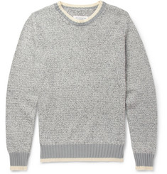 Maison Martin Margiela Knitted Cotton and Linen-Blend Sweater