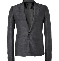 Rick Owens Slim-Fit Textured Blazer