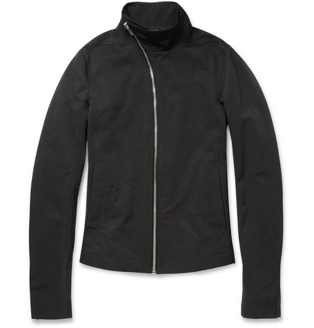 Rick Owens Slim-Fit Cotton-Blend Bomber Jacket