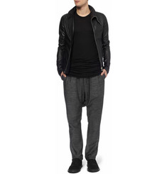 Rick Owens Regular-Fit Textured Sweatpants