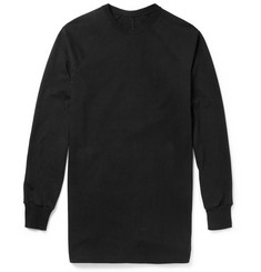 Rick Owens Long-Length Cotton-Jersey Sweatshirt