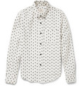 Band of Outsiders Slim-Fit Atari-Pattern Printed Cotton Shirt