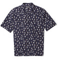 Lemaire - Oversized Printed Silk and Cotton-Blend Shirt