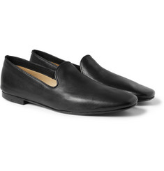 Christophe Lemaire Leather Loafers
