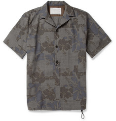 Kolor Printed Wool Shirt