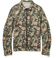 Kolor Floral Cotton Bomber Jacket