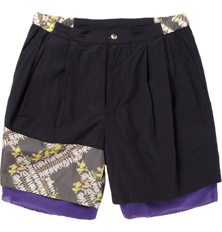 Kolor Panelled Shell Shorts